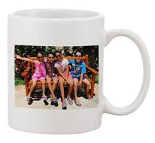 Add Your Custom Text and Photo White Ceramic 11 Oz Coffee Mug Custom Tea Coffee