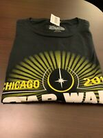 STAR WARS CELEBRATION 2019 CHICAGO LOGO T-SHIRT SZ XL LARGE IN HAND) AUTHENTIC