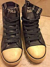 Ralph Lauren Polo High-top Shoes sz 4 1/2