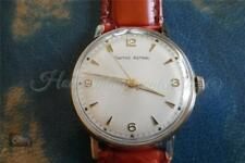 Solid 9ct gold vintage Smiths Astral watch 17 jewel 60466e slimline 1966