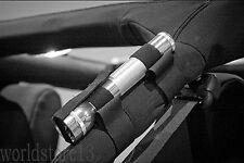Roll Bar Mount Mag Flashlight Holder Straps fits All Jeep Wrangler YJ TJ JK JL