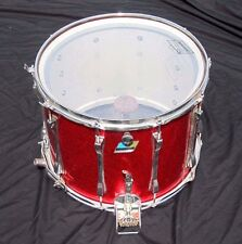 "Ludwig Marching Band 16"" x 12"" Red Sparkle Snare Drum"