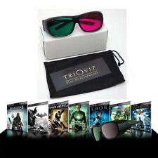TriOviz InfiColor 3D Glasses Fit Over Version Assassins Creed Batman Gotham City