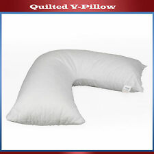 Quilted Stitch V Pillow Back Neck Nursing Support Orthopedic Pregnancy Maternity