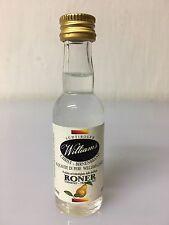 Mignon Miniature Roner Acquavite Di Pere William- Christ 3cl 40% Vol
