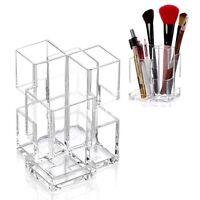 Makeup Cosmetic Storage Box Case Holder Brush Pen Pencil Organizer Acrylic Clear