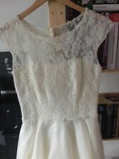 NEW Alan Hannah Wedding Dress Size 12 In Wedding Bag And With Tags