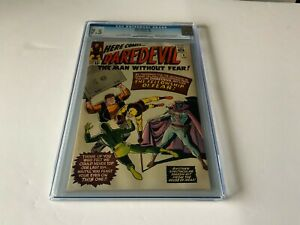 DAREDEVIL 6 CGC 7.5 ORIGIN 1ST APPEARANCE MISTER FEAR MARVEL COMICS 1965