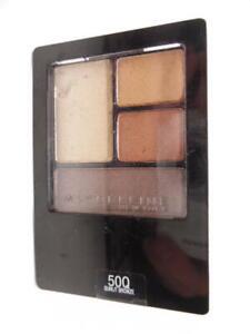 Maybelline New York Expert Wear Eyeshadow Quads, 50Q Sunlit Bronze, 0.17 oz.
