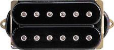 DIMARZIO DP101 Dual Sound Humbucker Guitar Pickup - BLACK REGULAR SPACING