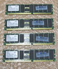 Samsung 2 GB - (512 MB X 4) PC2100, 184 Pin Memoria Ram Servidor-M312L6420ETS