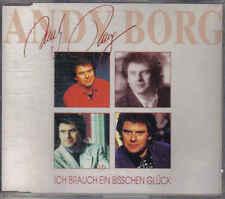 andy borg- Ich Brauch ein Bisschen Gluck cd maxi single