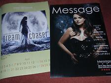 Sarah BRIGHTMAN nice Japan MAGAZINE cover/calendar DREAM CHASER 2013 LOVE SONGS