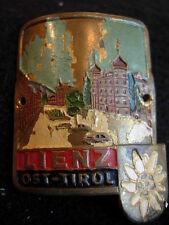 Lienz Ost-Tirol used badge stocknagel hiking medallion G4608
