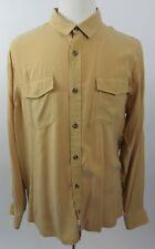 REI Modal Rayon Hiking Camping Long Sleeve Button Front Shirt, XL - MINT