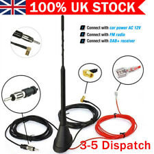 Premium Car Aerial Antenna AM//FM Radio Bee Sting Roof Mast 41cm M Size For Peugot 2008