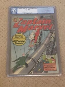 Captain Marvel Adventures 88 PGX 4.0 OW/White Pages (Shazam from 1948!!) not CGC