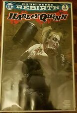 Harley Quinn #1 Rebirth Color Variant by Dell'Otto  Bulletproof NM.