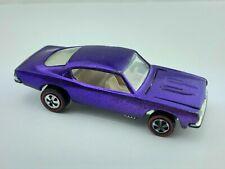 Hot Wheels Redline CUSTOM BARRACUDA US Purple White Int VG/EX Very Clean !!!