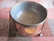 VINTAGE COPPER CHOCOLATE WARMER / BAIN MARIE T. ERRINGTON & SONS, PORTSMOUTH