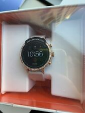 Fossil Women's Gen 4 Q Venture HR Stainless Steel Smartwatch - Rose Gold