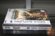 Romance of the Three Kingdoms IV 4: Wall of Fire (Sega Saturn 1995) SEALED!