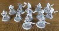 12 Necromunda Classic Plastic Orlocks Gang Unpainted Various Weapons