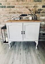 Farmhouse Style Cabinet Solid Pine Refurbished To A High Standard