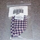 Longaberger CC Miniature Mini Plaid BERRY Basket Liner ~Made in USA~ Brand New!