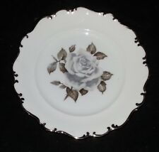 """Schumann Arzberg Germany China - Moon Rose - Bread & Butter Plate - 6 1/4"""" Dia"""
