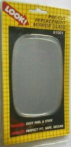 Dorman 51001 Pre-Cut Side Mirror Glass for 1971-86 Chevrolet Olds Pontiac LH RH