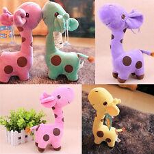 Lovely Baby Kid Child Unisex Cute Gift Plush Giraffe Soft Toy Animal Dear Doll
