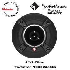 """Rockford FOSGATE PUNCH PRO 1"""" 4-ohm Tweeter al Neodimio Tweeter SINGOLO 100w pp4-nt"""
