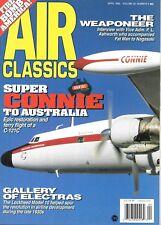 Air Classic April 1996 B-29 Fat Man Nagasaki C-121C Connie Australia Electras