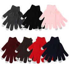 6 Pack Thermaxxx Knit Touch Screen Texting Gloves -Winter Active for Smart Phone