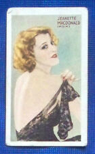 Jeannette Mac Donald 1934 Gallaher Champions of Screen & Stage Cigarette Card 11