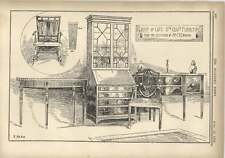 1904 Late 18th Century Furniture Collection Mr Tb Ewbank