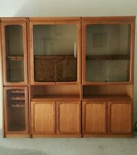 Chiswell Parker retro iconic 60's 70's Australian 3piece wallunit cabinet
