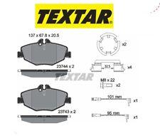 2374303 Kit pastiglie freno a disco ant.Mercedes (W211) (MARCA-TEXTAR)