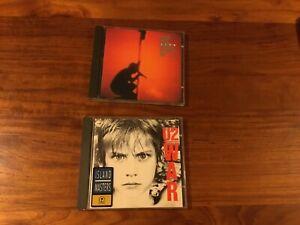 U2 2xCD Classic Album Bundle *War, Under A Blood Red Sky* 1983
