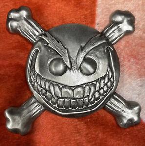 Evil Ernie /smiley Pewter Belt Buckle HTF rare. Chaos. Lady Death