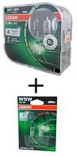 H7 OSRAM Ultra Life Extra Lifetime  2er Box 64210ULT-HCB + W5W Osram Ultra Life