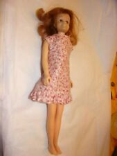 Vintage  Straight Leg Redhead Titian Skooter Doll