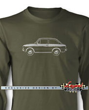 Fiat 850 Special Coupe Long Sleeves T-Shirt - Multiple Colors & Sizes - Italian