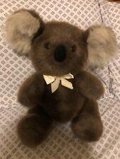 "VINTAGE Dakin KOALA BEAR 12"" Plush STUFFED ANIMAL Toy 1986"