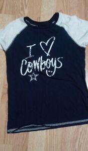 Dallas Cowboys Girls Tshirt 10/12