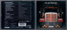 CD TOP JAZZ FROM ITALY VOL.2 PIERANUNZI D'ANDREA FASSI FRESU TROVESI SCHIAFFINI