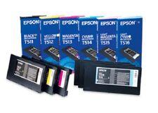 6 x Original Ink Epson Stylus Pro 10000 10600 / T511 T512 T513 -T516 Cartridge