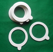 SEALING RING GASKETS FOR GLASS JARS (125-350ml) 60 MM ID x 85 MM OD - PACK OF 10