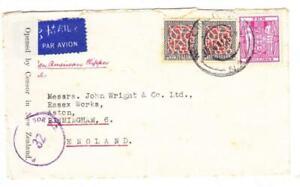New Zealand SG#587(pair)#F201(10/ Postal Fiscal)-WELLINGTON 30/JL/41-TRANS